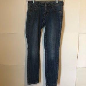 Old Navy Rock Star jeans denim womens 2 regular